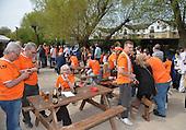 24/04/2010  Peterborough away. Fans pre match<br /> <br /> <br /> <br /> <br /> <br /> &copy; Phill Heywood