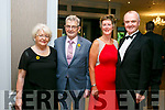 Enjoying  The Midsummer's Ball in aid of the Palliative Care Unit at the Rose Hotel on Friday were Breda Moynihan, Ted Moynihan, Maura Sullivan and Pat Sullivan