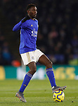 Wilfed Ndidi of Leicester City during the Premier League match against Everton at the King Power Stadium, Leicester. Picture date: 1st December 2019. Picture credit should read: Darren Staples/Sportimage