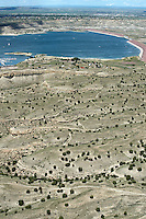 Bike and hiking trails at Lake Pueblo State Park. Aug 23, 2014. 813104