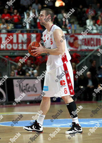 2009-12-05 / Basketbal / seizoen 2009-2010 / Antwerp Giants - Luik / Christophe Beghin..foto: mpics