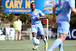 13 November 2011: North Carolina's Boyd Okwuonu. The University of North Carolina Tar Heels defeated the Boston College Eagles 3-1 at WakeMed Stadium in Cary, North Carolina in the Atlantic Coast Conference Men's Soccer Tournament championship game.