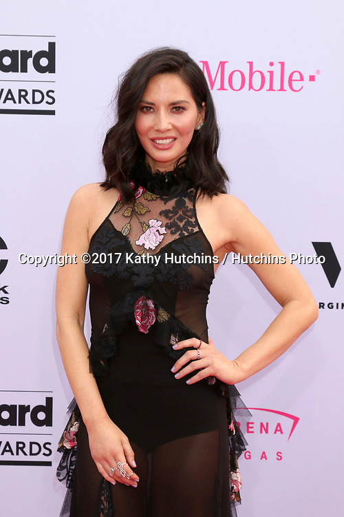 LAS VEGAS - MAY 21:  Olivia Munn at the 2017 Billboard Music Awards - Arrivals at the T-Mobile Arena on May 21, 2017 in Las Vegas, NV