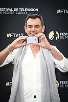 Jérôme BERTIN - Photocall 'PLUS BELLE LA VIE' - 57ème Festival de la Television de Monte-Carlo. Monte-Carlo, Monaco, 18/06/2017. # 57EME FESTIVAL DE LA TELEVISION DE MONTE-CARLO - PHOTOCALL 'PLUS BELLE LA VIE'