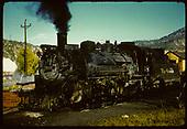 D&amp;RGW #480 K-36 - Durango.<br /> D&amp;RGW  Durango, CO
