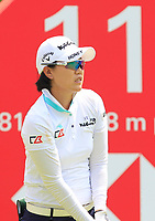 Jeong Eun Lee (KOR) in action on the 11th during Round 4 of the HSBC Womens Champions 2018 at Sentosa Golf Club on the Sunday 4th March 2018.<br /> Picture:  Thos Caffrey / www.golffile.ie<br /> <br /> All photo usage must carry mandatory copyright credit (&copy; Golffile | Thos Caffrey)