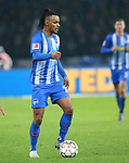 16.03.2019, OLympiastadion, Berlin, GER, DFL, 1.FBL, Hertha BSC VS. Borussia Dortmund, <br /> DFL  regulations prohibit any use of photographs as image sequences and/or quasi-video<br /> <br /> im Bild Valentino Lazaro (Hertha BSC Berlin #20)<br /> <br />       <br /> Foto &copy; nordphoto / Engler