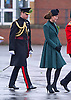 "CATHERINE, DUCHESS OF CAMBRIDGE_AND PRINCE WILLIAM.attend the St. Patrick's Day Parade at Mons Barracks, Aldershot_17/03/2013.Prince William attended as Colonel of the Regiment while Kate presented the traditional sprgs of shamrock to the Officers and Guardsmen.Mandatory credit photo:©Dias/NEWSPIX INTERNATIONAL..**ALL FEES PAYABLE TO: ""NEWSPIX INTERNATIONAL""**..PHOTO CREDIT MANDATORY!!: NEWSPIX INTERNATIONAL(Failure to credit will incur a surcharge of 100% of reproduction fees)..IMMEDIATE CONFIRMATION OF USAGE REQUIRED:.Newspix International, 31 Chinnery Hill, Bishop's Stortford, ENGLAND CM23 3PS.Tel:+441279 324672  ; Fax: +441279656877.Mobile:  0777568 1153.e-mail: info@newspixinternational.co.uk"