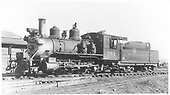3/4 fireman's-side view of D&amp;RGW #361 in Gunnison yard.<br /> D&amp;RGW  Gunnison, CO  Taken by Perry, Otto C. - 9/20/1936