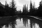 Stikine River, early morning. Alaska. 2017