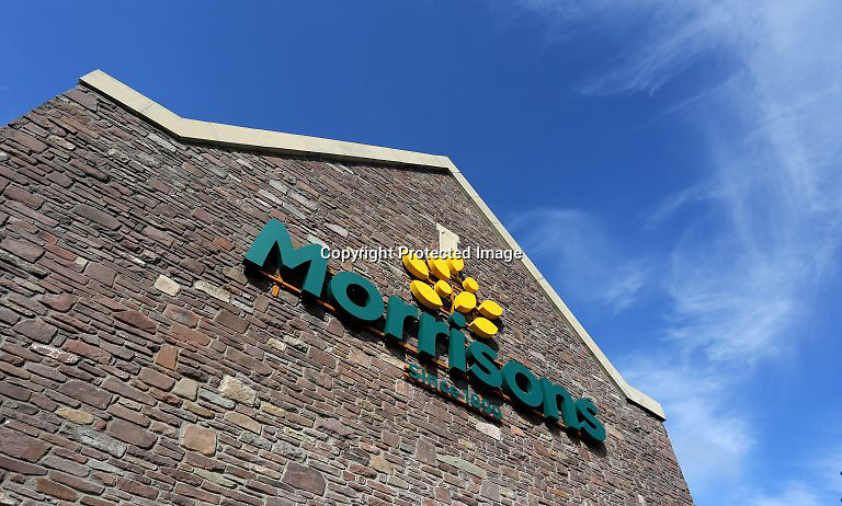 PR PHOTOGRAPHY Morrisons super market, Brecon, Wales, UK