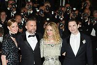 CANNES, FRANCE - MAY 17: Yann Gonazalez, Kate Moran, Vanessa Paradis, Nicolas Maury attends the screening of 'Knife + Heart (Un Couteau Dans Le Couer)' during the 71st annual Cannes Film Festival at Palais des Festivals on May 17, 2018 in Cannes, France. <br /> <br /> Picture: Kristina Afanasyeva/Featureflash/SilverHub 0208 004 5359 sales@silverhubmedia.com