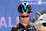 Philip Deignan (IRL) Team Sky at sign on in Arbatax before the start of Stage 3 of the 100th edition of the Giro d'Italia 2017, running 148km from Tortoli to Cagliari, Sardinia, Italy. 7th May 2017.<br /> Picture: Eoin Clarke | Cyclefile<br /> <br /> <br /> All photos usage must carry mandatory copyright credit (&copy; Cyclefile | Eoin Clarke)