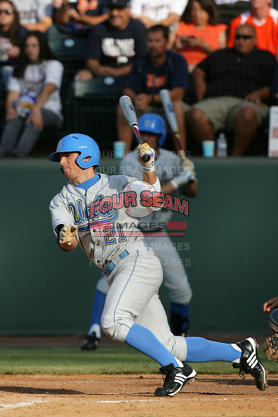 Chris Giovinazzo of the UCLA Bruins during game against the Cal.St. Fullerton Titans at Jackie Robinson Stadium in Los Angeles,California on June 12, 2010. Photo by Larry Goren/Four Seam Images