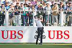 Adam Groom of Australia tees off the first hole during the 58th UBS Hong Kong Golf Open as part of the European Tour on 08 December 2016, at the Hong Kong Golf Club, Fanling, Hong Kong, China. Photo by Marcio Rodrigo Machado / Power Sport Images