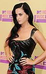 LOS ANGELES, CA - SEPTEMBER 06: Katy Perry arrives at the 2012 MTV Video Music Awards at Staples Center on September 6, 2012 in Los Angeles, California.