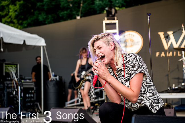 Emily Armstrong of Dead Sara performs at the 2014 Bunbury Music Festival in Cincinnati, Ohio