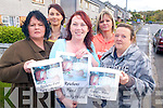 COLLECTION: Friends and neighbours of Reuben Uduojie who died in August, who will be collecting for the Emly Ward at Kerry General Hospital on Friday, l-r: Margaret Hurley, Andrea Dolan, Tina Uduojie, Erris O'Carroll, Kay Breen.   Copyright Kerry's Eye 2008
