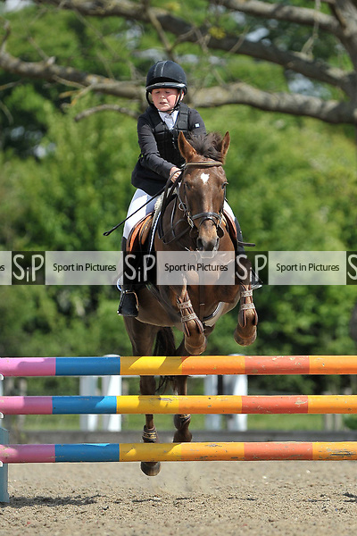 Class 2. British Novice. British Showjumping (BS) Juniors. Brook Farm training centre. Stapleford Abbotts. Essex. 13/05/2017. MANDATORY Credit Garry Bowden/Sportinpictures - NO UNAUTHORISED USE - 07837 394578