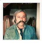polaroid portrait of Felix Landau by Robert Landau circa 1970s