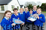 Kilmurry NS, Cordal  pupils  show off their calendar to celebrate 40th anniversary l-r: Ellie Mai Walsh, Nico Ocana, Joel Smith, Rebecca Murphy, Grace O'Callaghan, Aimee Browne-Dennehy and David Breja