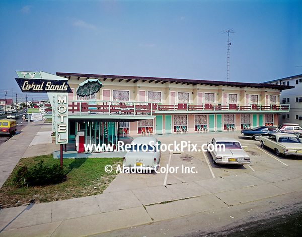 Coral Sands Motel, Wildwood Crest, NJ.