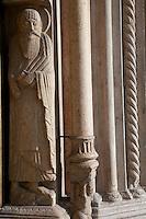 Parma Cattedrale dell'Assunta Portale d'ingresso  1106