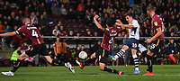 Preston North End's Josh Harrop scores hisses 4th goal<br /> <br /> Photographer Dave Howarth/CameraSport<br /> <br /> The Carabao Cup First Round - Bradford City v Preston North End - Tuesday 13th August 2019 - Valley Parade - Bradford<br />  <br /> World Copyright © 2019 CameraSport. All rights reserved. 43 Linden Ave. Countesthorpe. Leicester. England. LE8 5PG - Tel: +44 (0) 116 277 4147 - admin@camerasport.com - www.camerasport.com