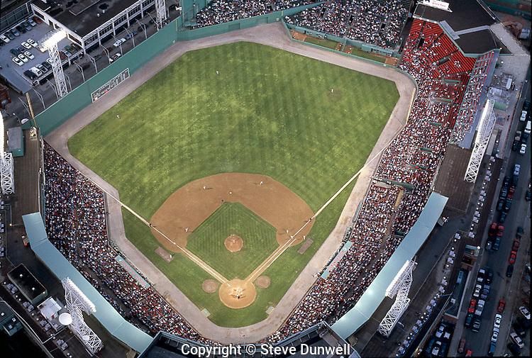 Red Sox Fenway Park aerial, Boston