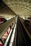 The Metro subway in Washington, D.C.