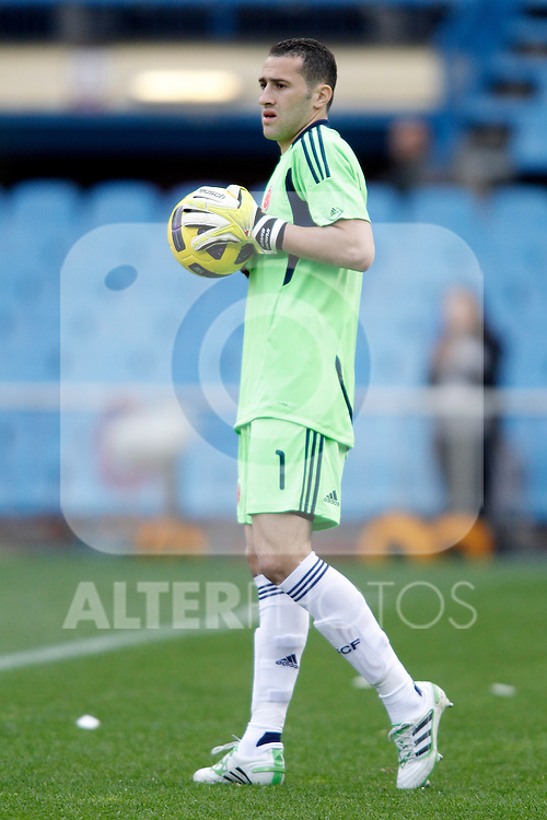 Colombia's national team David Ospina during international friendly. March 26, 2011. (ALTERPHOTOS/Alvaro Hernandez)
