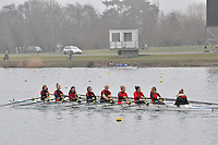 059 GtMarlowSch W.J14A.8x+..Marlow Regatta Committee Thames Valley Trial Head. 1900m at Dorney Lake/Eton College Rowing Centre, Dorney, Buckinghamshire. Sunday 29 January 2012. Run over three divisions.