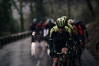 Christopher Juul-Jensen (DEN/Michelton-Scott)<br /> <br /> 76th Paris-Nice 2018<br /> Stage 8: Nice > Nice (110km)