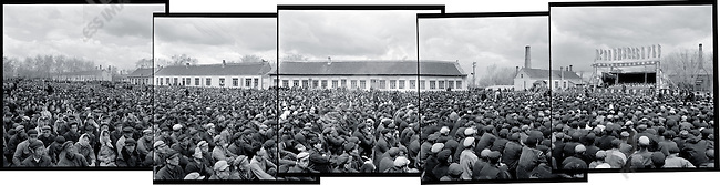 "Mass rally in support of the fight against the ""enemies of the people"" Acheng, Acheng county, Heilongjiang province, 21 May 1965."