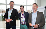 BUSSUM - NVG / NGF/ PGA congres 2018. The drive to happiness. Vincent de Vries, William Boogaarts, Koert Donkers.   COPYRIGHT KOEN SUYK