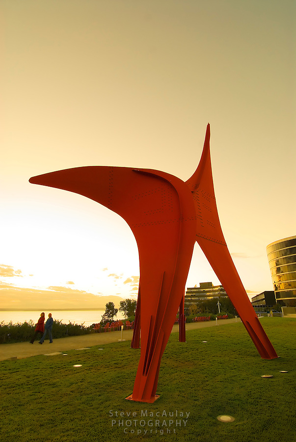 Alexander Calder sculpture, Olympic Sculpture Park, Seattle, WA.