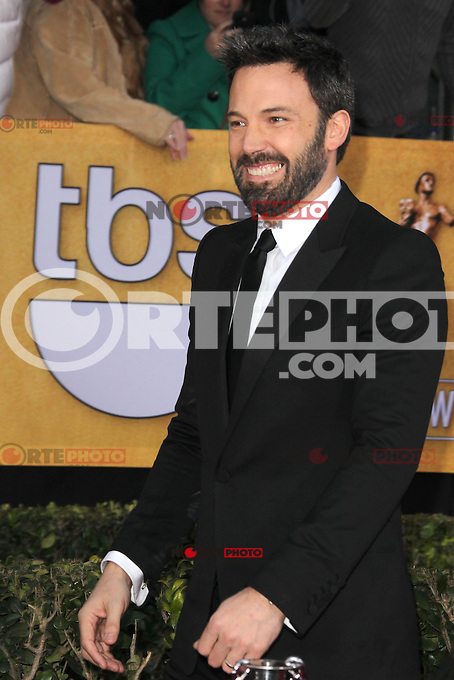 LOS ANGELES, CA - JANUARY 27: Ben Affleck at The 19th Annual Screen Actors Guild Awards at the Los Angeles Shrine Exposition Center in Los Angeles, California. January 27, 2013. Credit: mpi27/MediaPunch Inc. /NortePhoto /NortePhoto