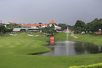 In between the 9th and 10th during Round 3 of the CIMB Classic in the Kuala Lumpur Golf & Country Club on Saturday 1st November 2014.<br /> Picture:  Thos Caffrey / www.golffile.ie
