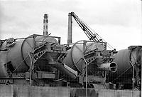 Greve a la carriere MIRON, le 13 mai 1974<br /> <br /> PHOTO : Agence Quebec Presse