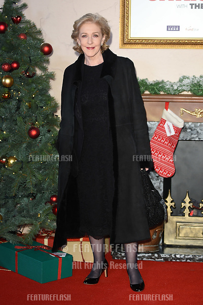 """LONDON, UK. November 21, 2018: Patricia Hodge at the """"Surviving Christmas with the Relatives"""" premiere at the Vue Leicester Square, London.<br /> Picture: Steve Vas/Featureflash"""