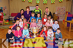 Kerry Star Shane Enright  with the Sam Maguire cup arrived at St. Senans Parent & Toddler Group  on Tuesday