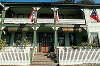 Historic Florida House Inn, Florida's oldest hotel (1857). Fernandina Beach, Florida.