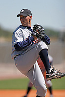 Detroit Tigers minor leaguer Chris Cody during Spring Training at the Chain of Lakes Complex on March 17, 2007 in Winter Haven, Florida.  (Mike Janes/Four Seam Images)