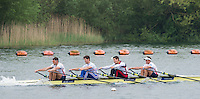 Caversham, Nr Reading, Berkshire.<br /> GBR M4X. Bow Peter LAMBERT, Sam TOWNSEND, Angus GROOM and Graeme THOMAS.  Training with a bungee to create resistance. GBRowing Media Day.<br /> <br /> Wednesday 11.05.2016<br /> <br /> [Mandatory Credit: Peter SPURRIER/Intersport Images]