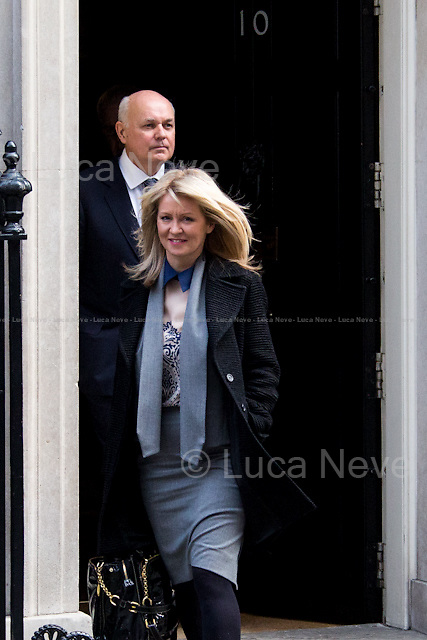 (From R to L) Esther McVey MP (Minister of State for Employment) &amp; Iain Duncan Smith MP (Secretary of State for Work and Pensions).<br />