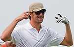 Michael Phelps during the Mission Hills Start Trophy at the Mission Hills Golf Resort on October 31, 2010 in Haikou, China. The Mission Hills Star Trophy is Asia's leading leisure liflestyle event and features Hollywood celebrities and international golf stars. Photo by Victor Fraile