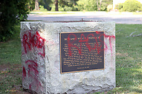 JUL 03 Confederate Statue Torn Down Outside Maryland Church