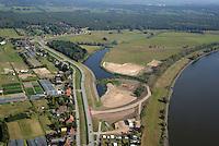 Altengammer Hauptdeich Deichbau: EUROPA, DEUTSCHLAND, HAMBURG 20.09.2014: Altengammer Hauptdeich Deichbau,Borghorster Elbwiesen