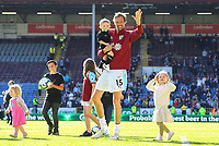 Burnley's Peter Crouch waves to fans after the match<br /> <br /> Photographer Alex Dodd/CameraSport<br /> <br /> The Premier League - Burnley v Arsenal - Sunday 12th May 2019 - Turf Moor - Burnley<br /> <br /> World Copyright © 2019 CameraSport. All rights reserved. 43 Linden Ave. Countesthorpe. Leicester. England. LE8 5PG - Tel: +44 (0) 116 277 4147 - admin@camerasport.com - www.camerasport.com