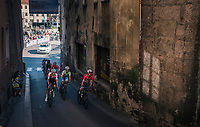 entering the Hell H&ouml;ll climb section<br /> <br /> MEN UNDER 23 ROAD RACE<br /> Kufstein to Innsbruck: 180 km<br /> <br /> UCI 2018 Road World Championships<br /> Innsbruck - Tirol / Austria
